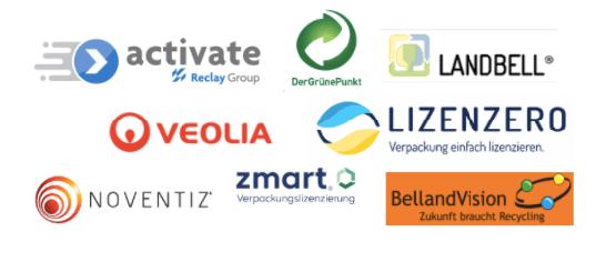 Verpackungslizenz Anbieter Alle Logos