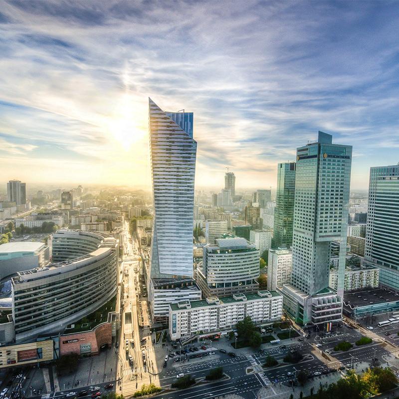 Warschau Skyline