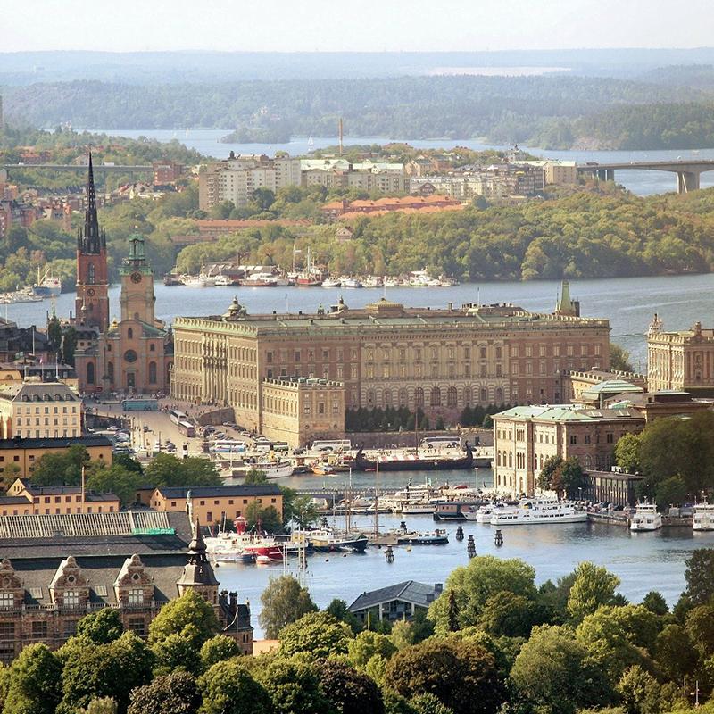 Luftaufnahme von Stockholm