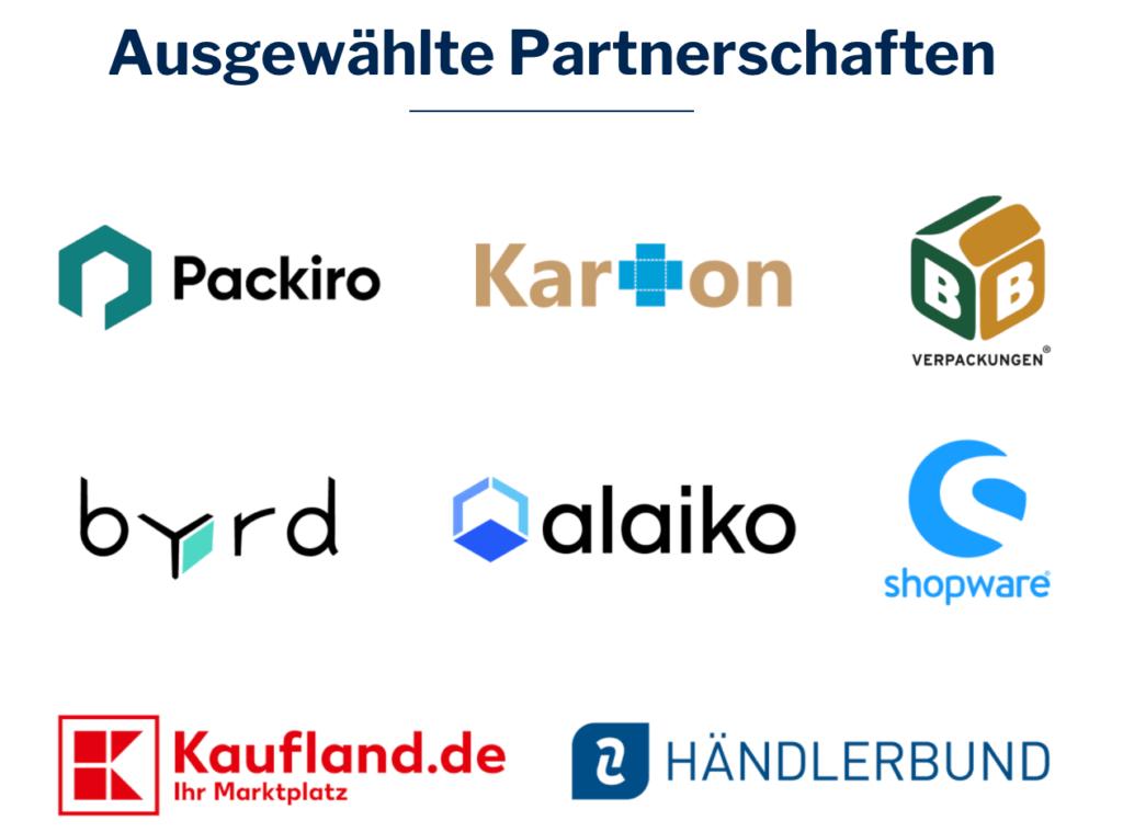 Ausgewählte Partnerschaften Lizenzero