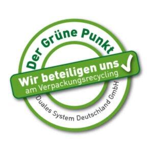 grüner punkt online siegel